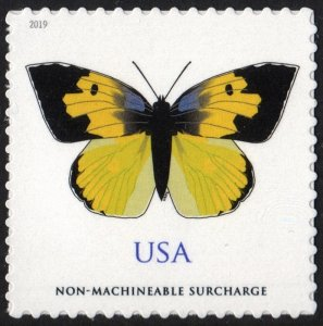 SC#5346 (70¢) California Dogface Butterfly Single (2019) SA