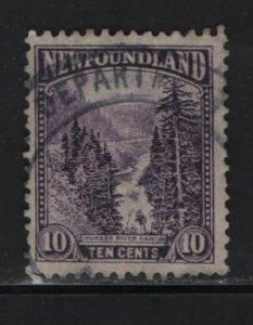 NEWFOUNDLAND, 139, USED, 1923-24, HUMBER RIVER CANYON