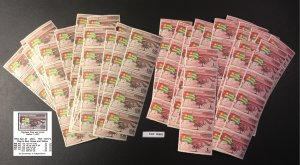 Togo Dealer's Lot ~ Sct 448 449 ~ 180 total  ~ CLR90603
