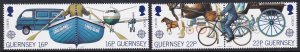 381-84 1988 Guernsey Europa MNH