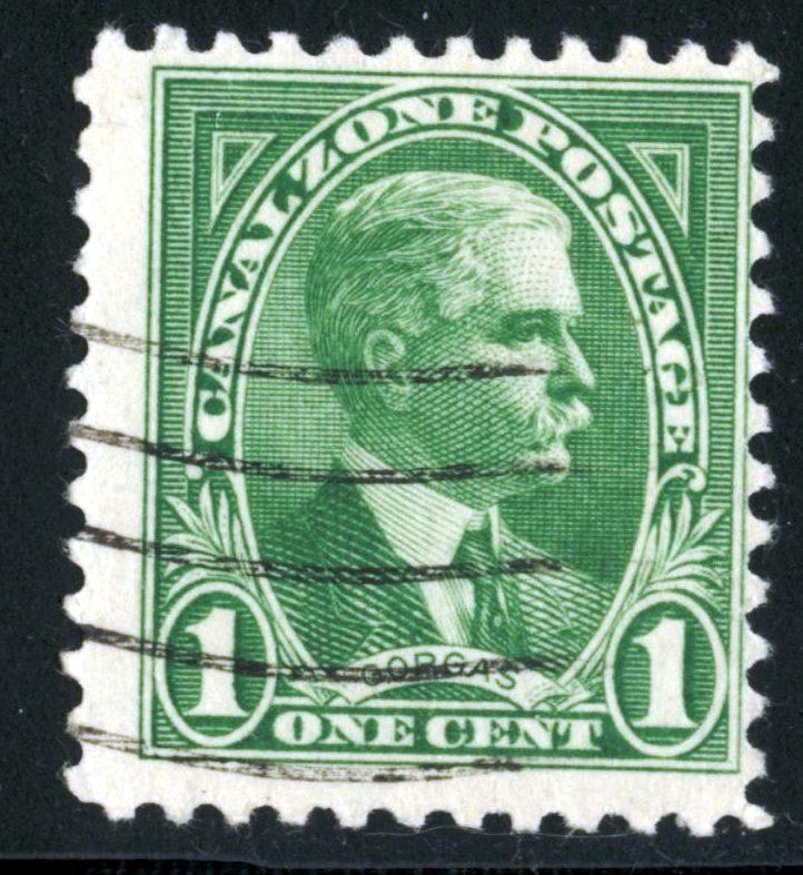 Canal Zone - SC #105 - Used - 1928-40 - Item CZ006