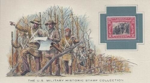 651 2c GEORGE ROGERS CLARK - U.S. Military Historic Stamp Collection