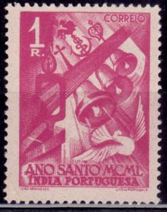 Portuguese India, 1951, Holy Year, 1r, sc#496, MH