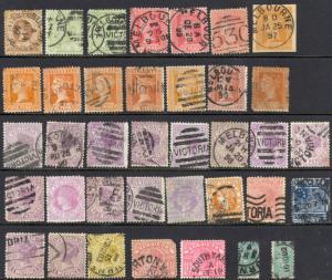 Australia Victoria various Used Lot/37 Miscellaneous