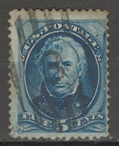 COLLECTION LOT # 3804 UNITED STATES #185 1879 CV+$17.50