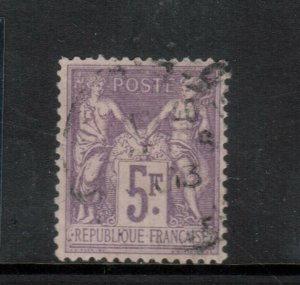 France #96 Extra Fine Used