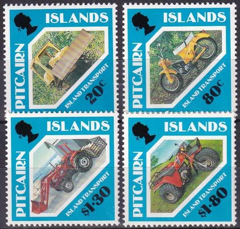 Pitcairn Islands  #354-7 MNH CV $6.35 (Z6157)