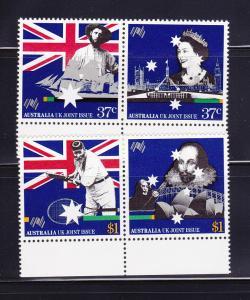 Australia 1083a, 1085a Set MNH Australian Bicentennial (A)