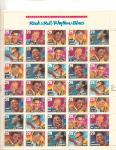US 2724-30 - 29¢  American Music Series Unused