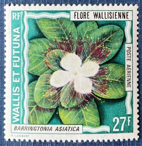 Wallis and Futuna Islands C53 MH Flower (SCV $7.25)
