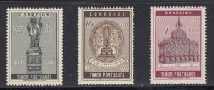 Timor    #272-74    mnh    cat $6.25
