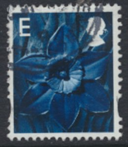 GB Regional Wales E value SG W100  SC#  22  Used / FU see scan details