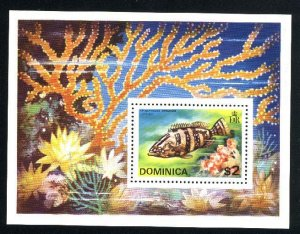 Dominica 426a   SS   Mint NH VF 1975 PD