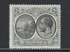Dominica 1923 Seal of Colony and George V 2p Scott # 70 MH