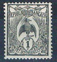 New Caledonia 88 Unused Kagu 1905 (N0601)