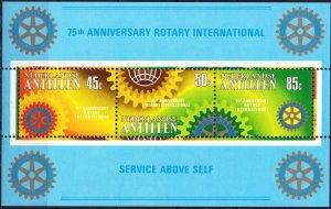 Antilles. 1980. bl12. Rotary Club. MNH.