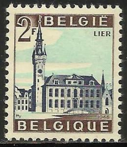 Belgium 1966 Scott# 650 MNH