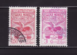 Paraguay 1153, 1156 U Peace Week