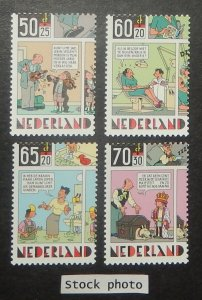 Netherlands B607-10. 1984 Comic Strips, NH
