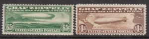 USA #C13 - #C14 Mint Duo