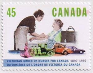 Canada Mint VF-NH #1639 Nurse and Patient