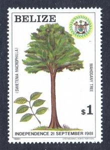 Belize - Scott #598 - MNH - Trace of fingerprint on gum - SCV $5.00