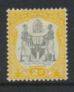 Nyasaland (British Central Africa) BCA SG 44 Mint Hinged