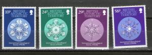 British Antarctic Territory 133-136  MNH