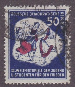 Germany DDR # 88, Girls Dancing, Used, 1/3 Cat.