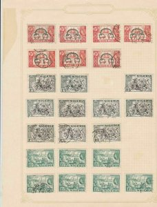 nigeria stamps sheet ref 17762
