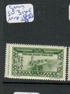 SYRIA   (PP0106B)  PARIS   SG 314-5    MNH