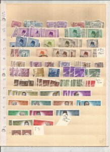 INDONESIA COLLECTION ON STOCK SHEET, MINT/USED
