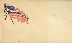 #FR UNLISTED UNION CIVIL WAR PATRIOTIC COVER BM2971