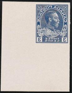 CANADA 1928 3c Admiral essay for the Victor-Kidder machine - ex ABNco......29181