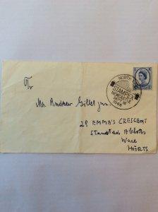 1966 Stampex Newcastle postmark. 4d.