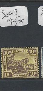 MALAYA FMS  (P0502B)  TIGER  10 C  SG 67   MOG