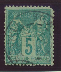 France Stamp Scott #1876-1900 Peace & Commerce, Used, 16 Different