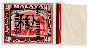 (I.B) Malaya States Revenue : Perak 40c (Japanese Occupation)