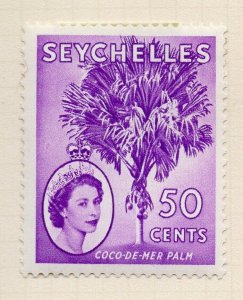 Seychelles 1957 Early Issue Fine Mint Hinged 50c. NW-99406