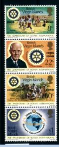 BRITISH VIRGIN ISLANDS - 75thAniv of Rotary - MNH