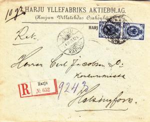 1901, Finland: Harju to Helsinki, Registered (2691)