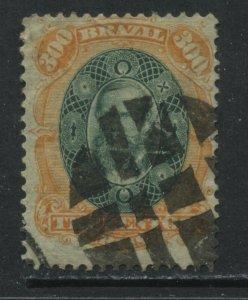 Brazil 1878 300 reis used