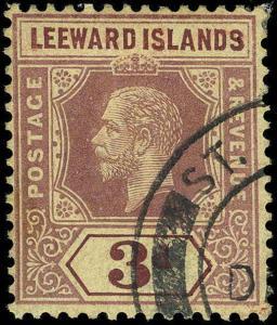 Leeward Islands Scott 46-57 Gibbons 46-57 Used Set of Stamps
