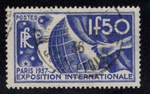 FRANCE Scott 320 Used 1937 Paris Expo stap