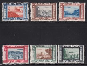 Italy Sc #'s C42 - C47 VF-MNH set nice colors scv $ 325 ! see pic !