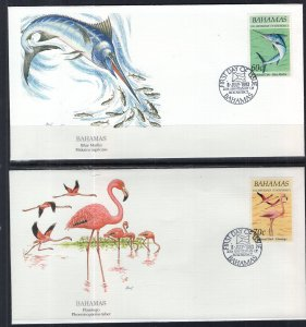 Bahamas 780-783 Set of Four Fleetwood U/A FDC