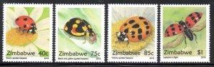 Zimbabwe - 2018 Ladybirds Set MNH**