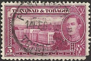 TRINIDAD AND TOAGO - #54 - Used - SCV-0.25