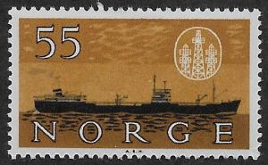 NORWAY SC# 385  VF/MOG 1960