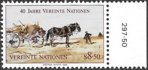 United Nations UN Austria Vienna 1985 Sc # 53 Mint NH. Ships Free With Another